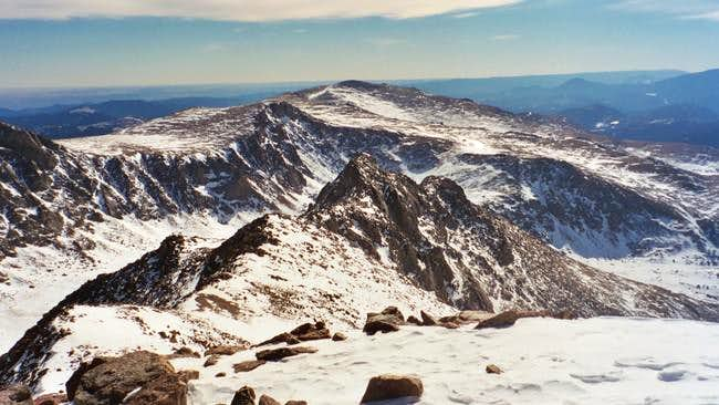 Mount Evans Winter Photos