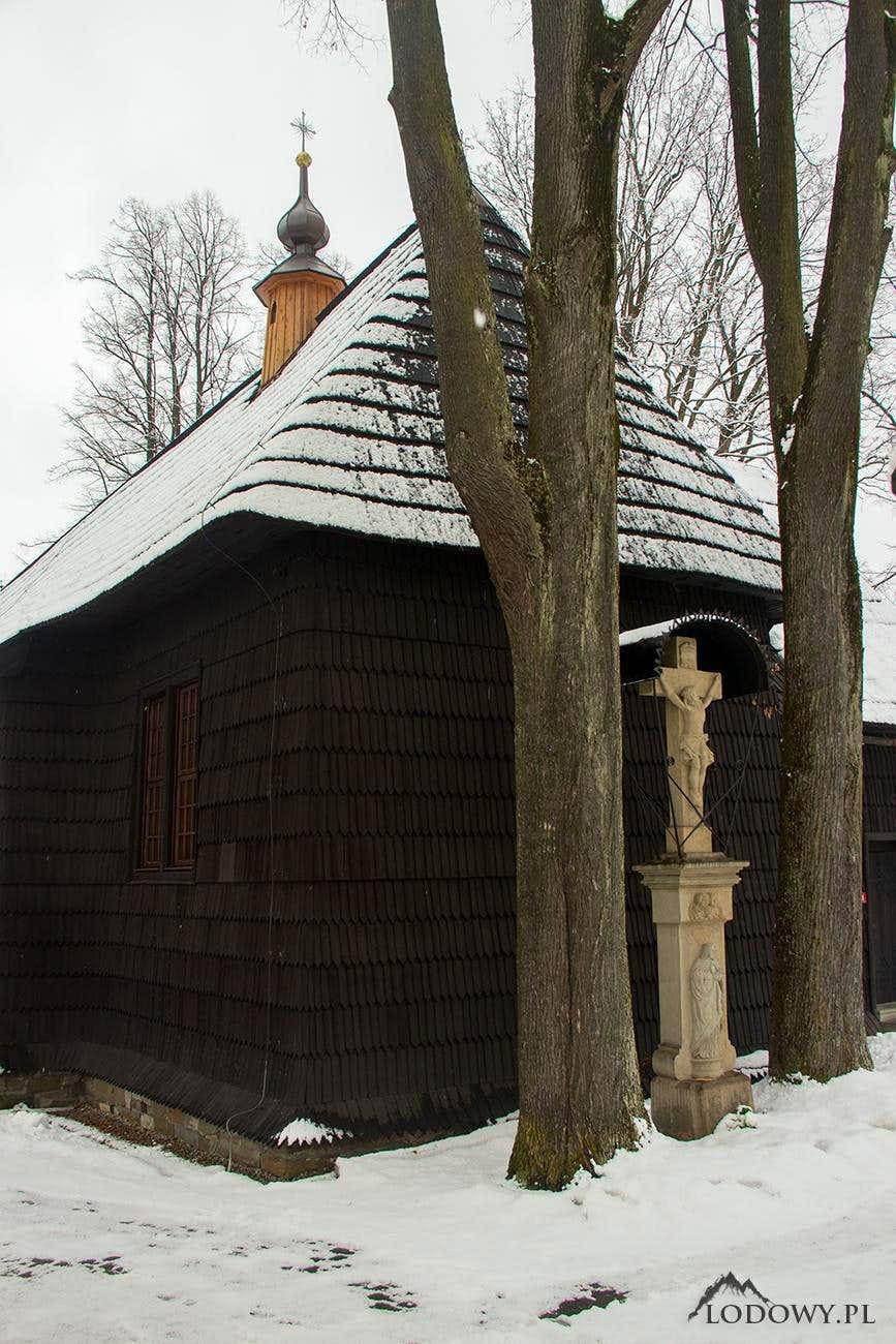 Wooden church in Jurgow