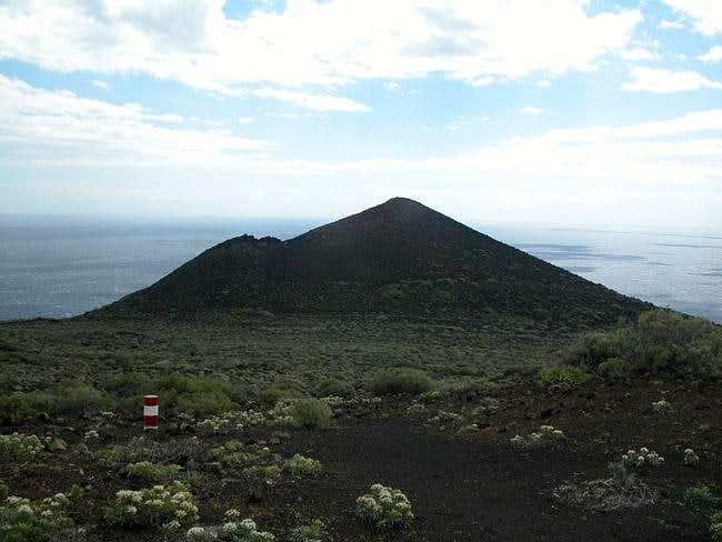 Montaña de Lagi (222m) during...