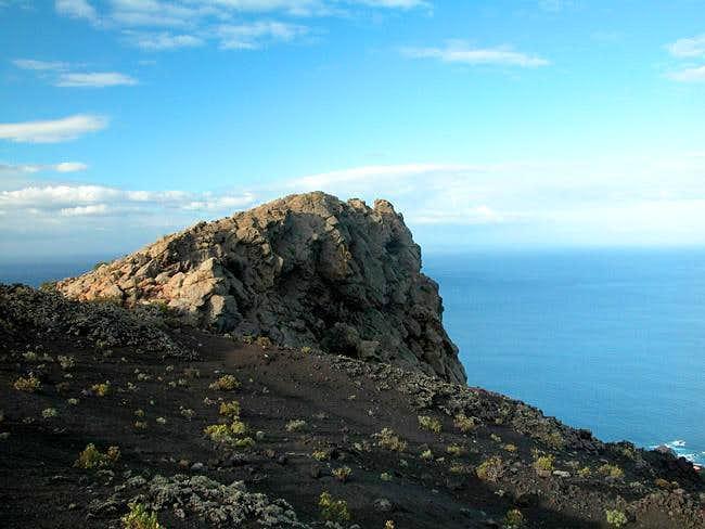 Roque Teneguía on the western...