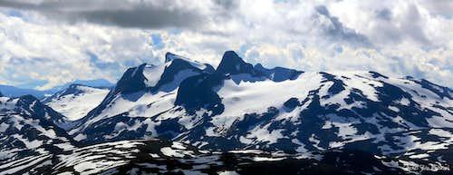 Fannaraken summit view