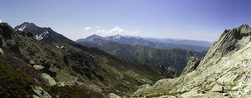 Looking south towards Monte d\'Oro