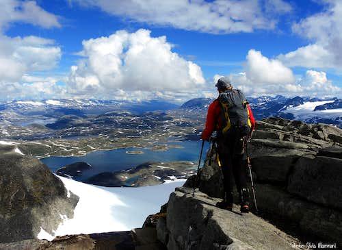 Summit of Fannaråken