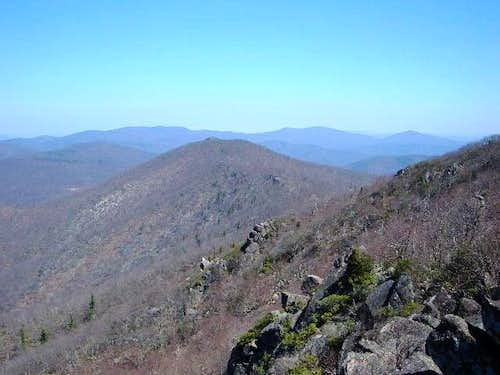 View of Mary's Rock 3514'...