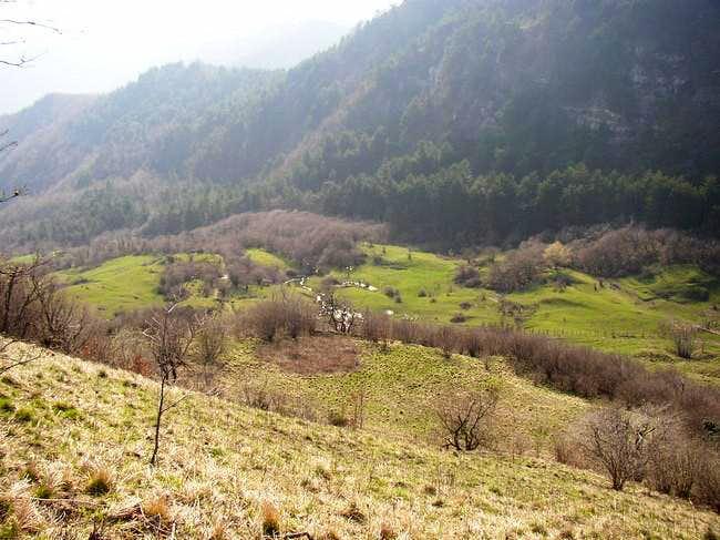 Sisa's gorge mt 729. Climbing...