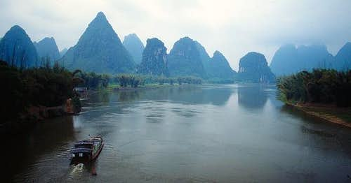 Cruising on the Li (Lijiang)...
