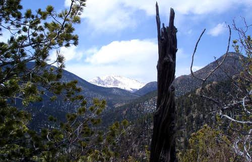 Pikes Peak from the Mt. Kineo...