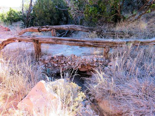 Old hiking bridge