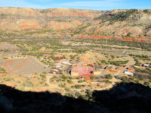 Pioneer Amphtheater from near Goodnoght Peak