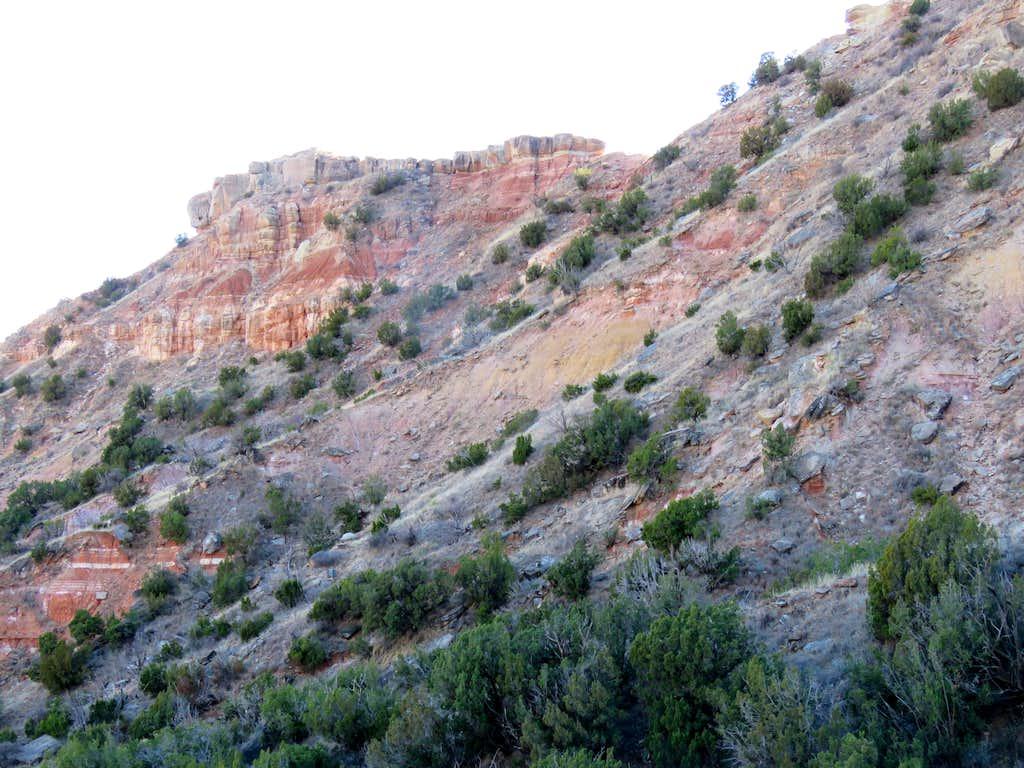 Slopes of Goodnight Peak
