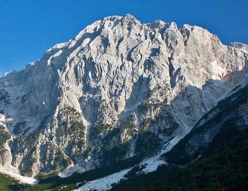 Mt. Briaset from Valbona Valley