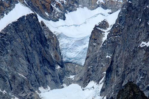 Freney glacier