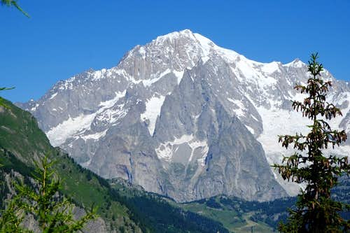Mont Blanc south side