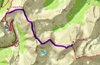 Loveland Pass Route Map