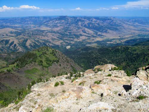 James Peak from Willard