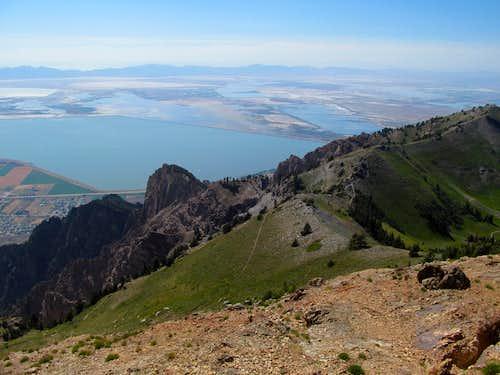 Promontory Range from Willard