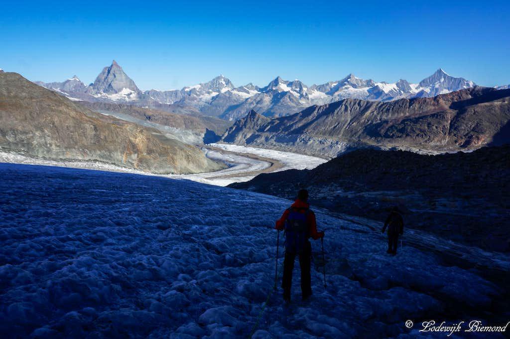 On the Grenz Glacier