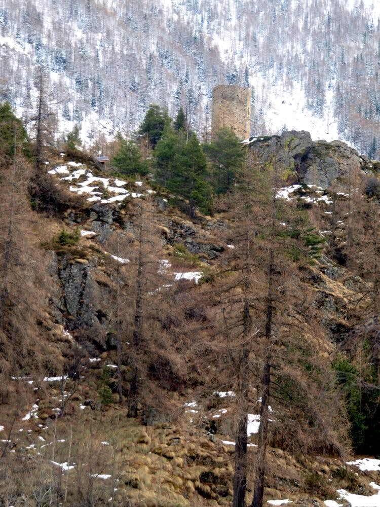 North-northeastern slopes below Tornalla's Tower 2017