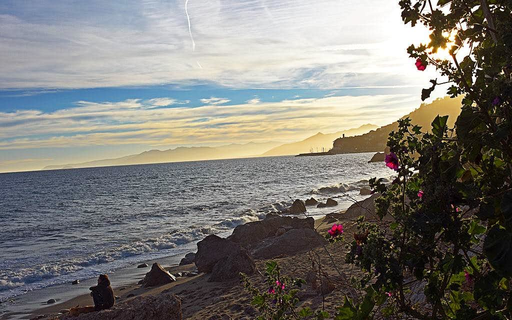 Evening on the Ligurian coast