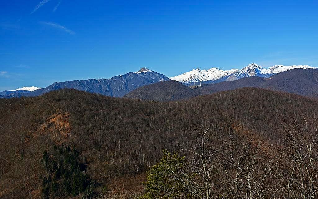 Above Giogo di Toirano