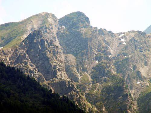 Buthier Barasson towards Mont Labiez & Col d'Ars 2016