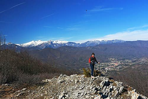 On the W ridge of Monte Carmo di Loano