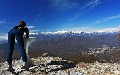 Monte Carmo di Loano view
