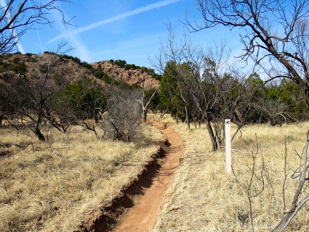 East end of Juniper/Cliffside Trail