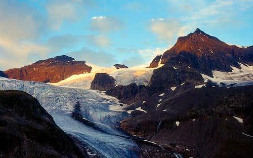 View of the Silvrettahorn...