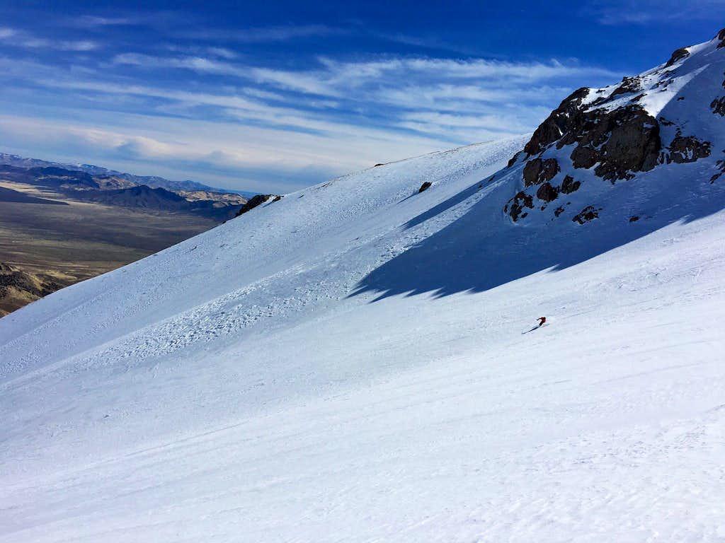 Skiing Star Peak