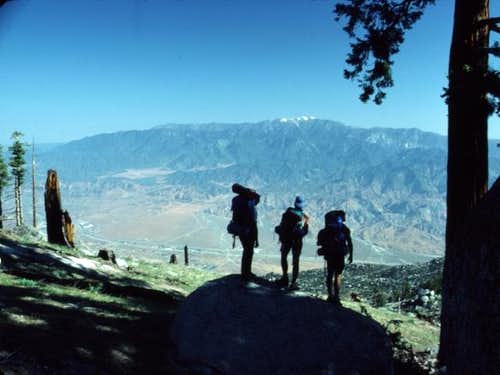 San Gorgonio as viewed from...