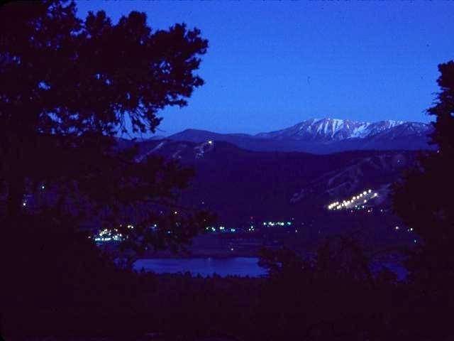 Twilight on San Gorgonio,...