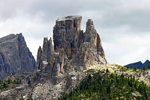 Cinque Torri from the north