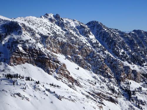Devil's Castle From Mineral Basin