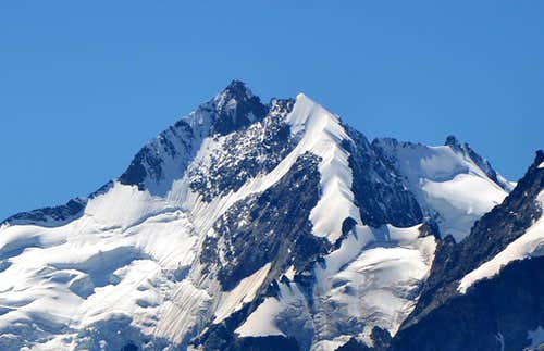 Piz Bernina and Bianco crest