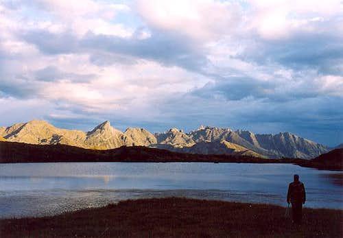 Lago delle Buse Basse mt.2135...