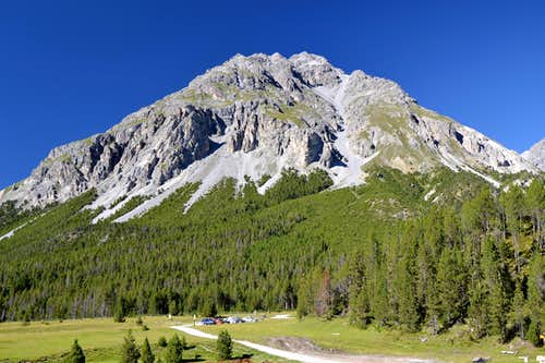 Piz Nair (3010 m) in the Swiss National Park