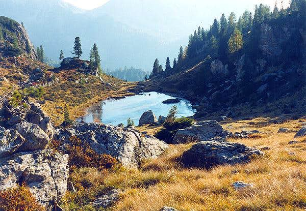 Alpine lakes in Trentino