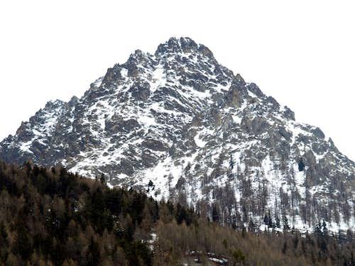 Oyace's Castle or Tower to Mont de Crête Sèche 2017