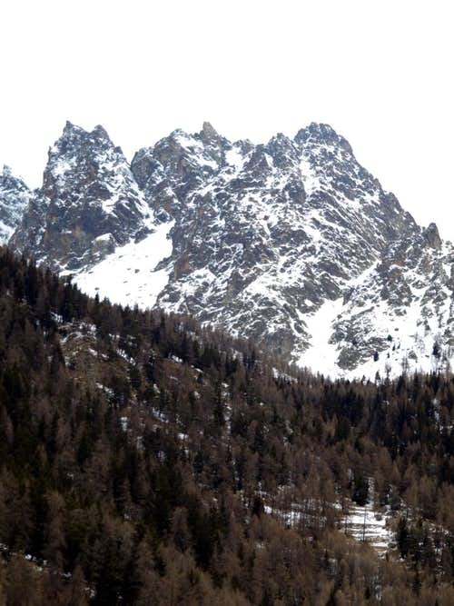 Oyace's Castle to Arolletta small Mountain Chain 2017