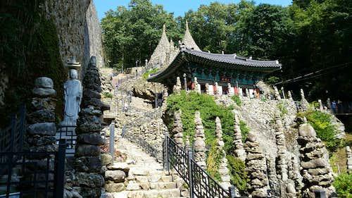 Stone Pagodas