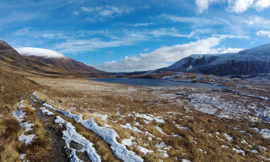 Looking back down towards Loch Affric