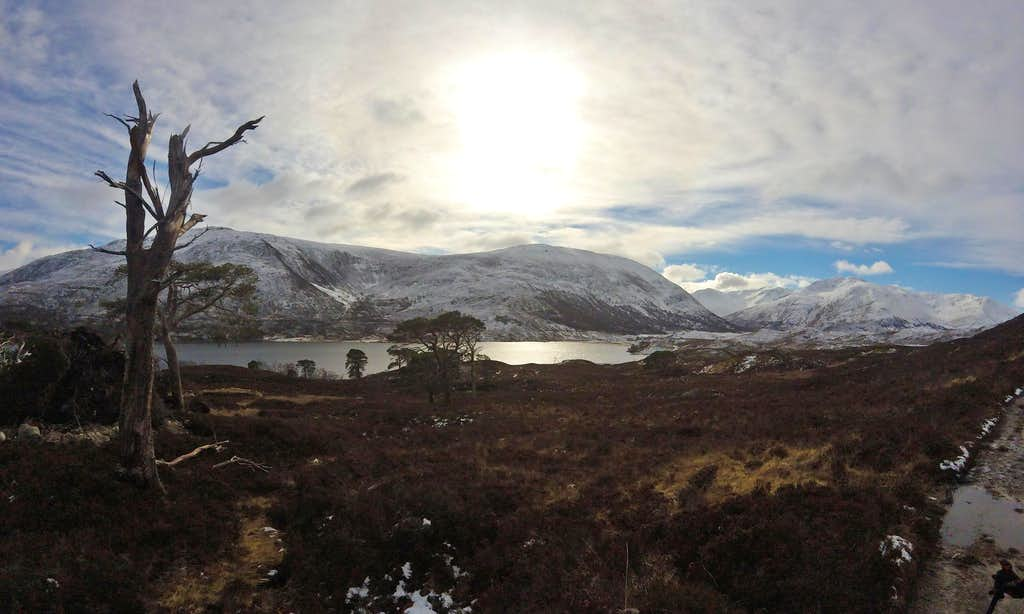 Loch Affric and Caledonian Forest