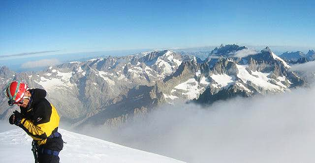 panorama from the summit