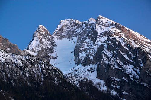 Blaueisspitze, Hochkalter and Rotpalfen