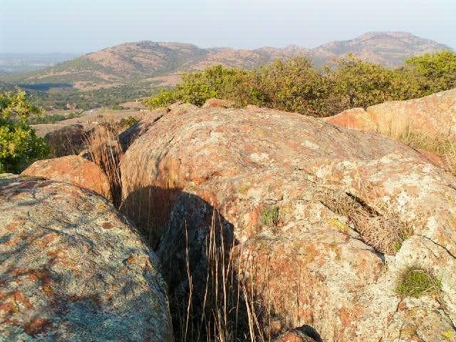 Mt Wall (distant left) & Mt...