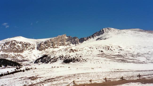 Mount Bierstadt Winter Photos