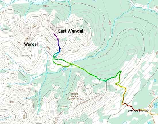 East Wendell Topo Map