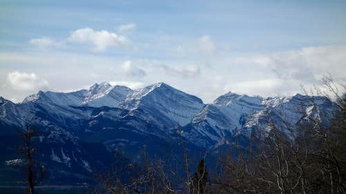 View from the Yamnuska Trail