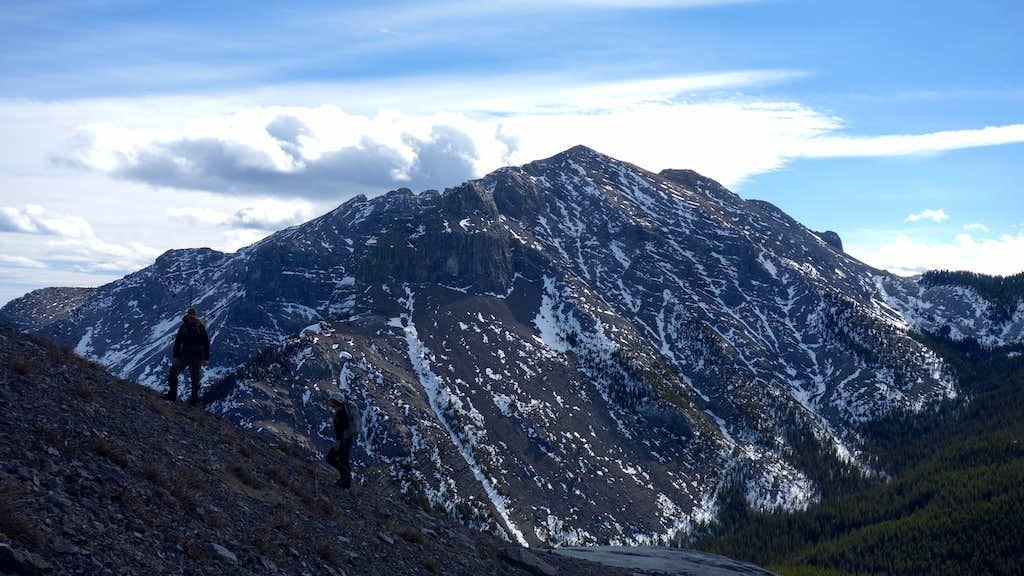Yamnuska Peak from the South Ridge